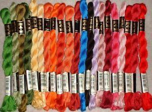 DMC Cotton Pearl Coton Perle #5 Lot of 22 Skeins MZC