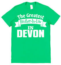 Personalised (Any Place) Greatest Brother-In-Law T-Shirt Gift for Brother-In-Law