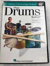 Play Drums Today! Level 1 Learn Beginner Music Lessons Hal Leonard Book Audio