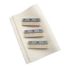 Neopost Hasler Formax FP Inserter Moistening Brush Set - 3 Brushes + Damp Cloth