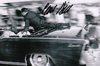 Clint Hill 4x6 Signed President Kennedy Assassination Secret Service Dealey JFK