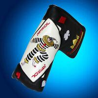 Craftsman USA Black Golf Putter Cover Head Cover Poker Joker Fit Scotty Cameron