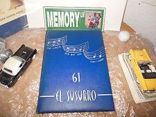 ORIGINAL 1961 MONTEREY HIGH SCHOOL YEARBOOK/ANNUAL/JOURNAL/MONTEREY, CALIFORNIA