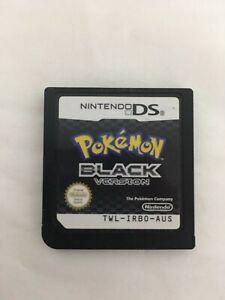 Pokémon: Black Version - NINTENDO DS GAME CARTRIDGE