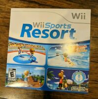 Wii Sports Resort (Nintendo Wii, 2009) Disc in Sleeve without Manual