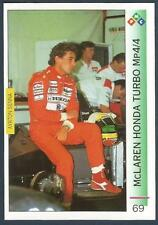"PMC-AYRTON SENNA ""MAGIC SENNA"" F1- #069-McLAREN HONDA TURBO Mp4/4-DETROIT-USA"
