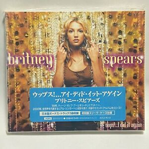Verpackt Britney Spears Oops I DID It Again Japan 1st Limitierte Promo CD