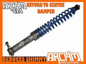 ARCHM4X4 RETURN TO CENTRE STEERING DAMPER FOR TOYOTA 4-RUNNER/SURF 1989 ONWARDS