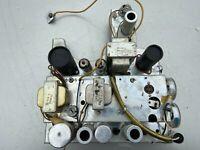 Vintage Wollensak 12AB5 12AX7 Tube Amplifier to rebuild 1958 guitar amp