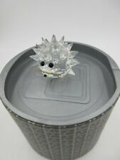 Swarovski Crystal Hedgehog Porcupine Figurine Mib 7630 Nr 050