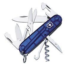 Victorinox Taschenmesser Taschenwerkzeug Climber 1.3703.T2 blau transparent neu