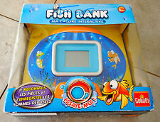 Jeu électronique FISH BANK Tirelire interactive neuve (Goliath) MONEY BOX