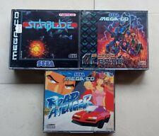 Sega Mega Drive CD Road Avenger robo aleste murió de carga