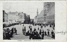Ypres Grand Place Jour de marché  1905