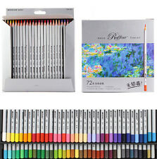 72 color Fine Marco Oil Base Non-toxic Pencils CHILDREN KIDS SCHOOL ART CRAFT