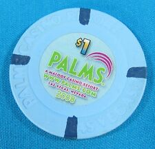 $1 Poker Chip from Palms Casino Las Vegas Nevada PRE-OWNED USED