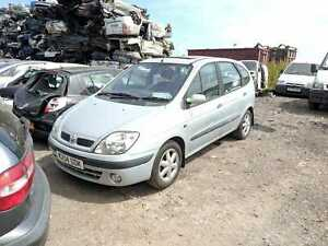 Renault Megane Scenic, 2000, 1598cc petrol- FOR BREAKING ONLY.