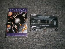 Anna Maria Mendieta~Enchanted Christmas~Holiday Music~Cassette~FAST SHIPPING!