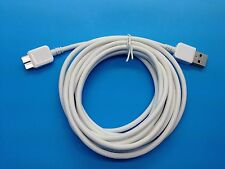 Samsung Galaxy Note 3 III S5 USB 3.0 Charger Cord Cable 10 Foot Length