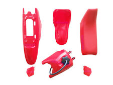 Yamaha PW50 PY50 Plastic Fender + Seat + Fuel Tank Motorcycle Parts (Red) 1 Set