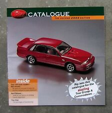 TRAX CATALOGUE 2000 diecast 1/43 model brochure VL SS GROUP A TORANA SLR FALCON