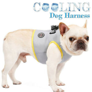 Breathable Dog Cooling Vest Harness Outdoor Puppy Cooler Jacket Sun-proof Pet