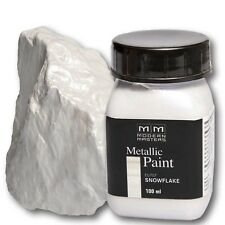 Schneeweiß Metallic Paint 100ml Modern Masters Metallfarbe Metalleffekt Acryl sn