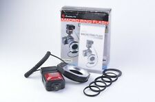 EXC++ RPS EMOBLITZ MACRO RING FLASH RING LIGHT DRF14 FOR CANON AF, WORKS GREAT