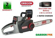 "SALE - OREGON 16"" CS300 6.0AH 36V Cordless Chainsaw 586641 5400182274476 D"