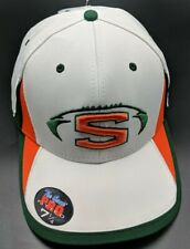 SHERMAN BULLS white fitted cap / hat - size 7 1/4 -  L  *NEW*
