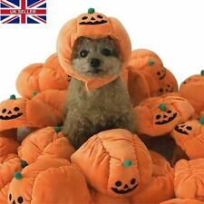 Pet Halloween Costume Cat Dog Funny Adjustable Pumpkin Hat Party Props Gifts