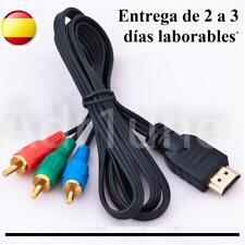 Cable de HDMI a RCA o RGB, conexion, television TV, euroconector, to adaptador