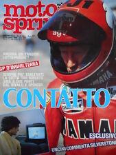 Motosprint n°31 1983 Hakan Carlqvist - Franco Uncini - Montesa Cota 242 [GS50]