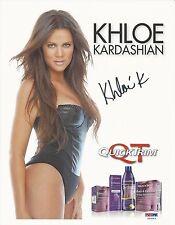 Khloe Kardashian Signed 8x11 Photo - PSA/DNA # Z53263