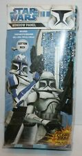 Star Wars Window Panel Curtains Stormtroopers *New in Package*