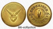 Ancien Bouton d'uniforme non identifié. France. 22,5 mm. Vers 1900