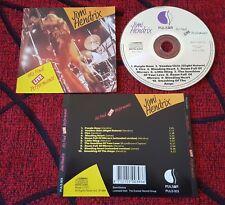 JIMI HENDRIX ** His Final Live Performance ** ORIGINAL 1989 FRANCE CD