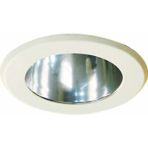 Volume Lighting Chrome Recessed Aluminum Cone Reflector Trim, Chrome - V8504-3