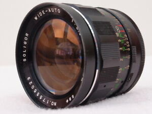 SOLIGOR 28mm f2.8 M42 WIDE ANGLE LENS CAN FIT PENTAX, CANON EOS, EF, DIGITAL