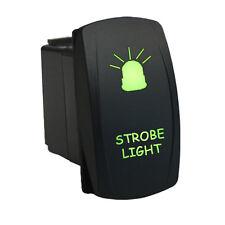 Rocker switch 624G 12V STROBE LIGHT Laser LED green Polaris RZR
