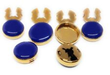 BLUE BUTTON COVERS((FORMAL SETS)) MANUFACTURERS DIRECT PRICING