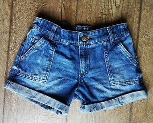 F&F Girls Denim Shorts 7-8 Years