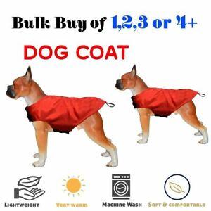 Milan Coat Dog Fleece Lined Waterproof Jacket Outdoor Coat Red 26'' Set Buy