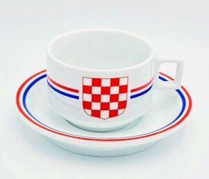 LukVik Design Croatian Grb Coffee Cup Espresso Set