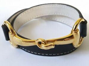 Fornash Leather Bangle Bracelet SUPER RARE