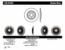 StopTech Disc Ultra-Premium Brake Rotor for 2011 - 2014 Ford Edge # 120.61081