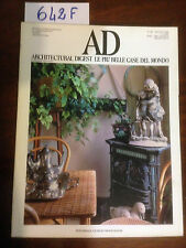 AD ARCHITECTURAL DIGEST: Le più belle case del mondo -  n. 85 Giugno 1988