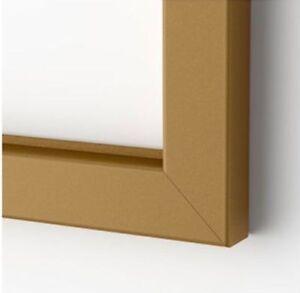 "Ikea Bjorksta Picture Frame Brass 78 3/4"" x 55"" NEW"