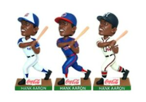 Hank Aaron Three Bobblehead SGA PRESALE Atlanta Braves ***Pick One*** 8/1/21