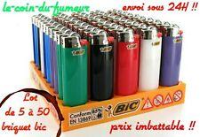 Lot De 5 à 50 Briquets BIC Original 3000 Flammes,Envoi Sous 24H Prix Imbattable
